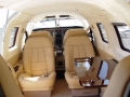 private airplane custom interior