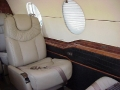 private airplane interior design