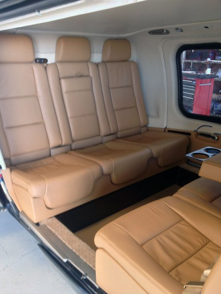 Designing Helicopter Interiors